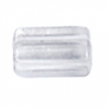 Spacer Tube 4X6mm Crystal Clear